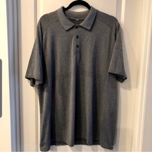 🆕️ Lululemon Charcoal Polo Great Condition XL